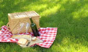 'There's real pleasure in having a glass of wine on a picnic.'