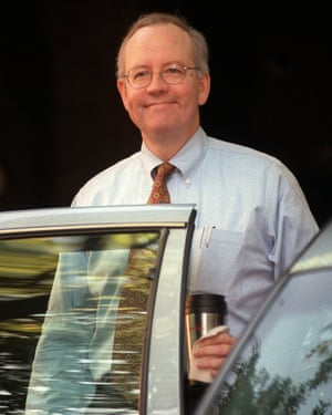 Whitewater prosecutor Kenneth Starr.