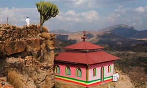 Abuna Aregawi Church in Debre Damo Monastery,  Ethiopia