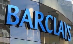 Barclays bank.
