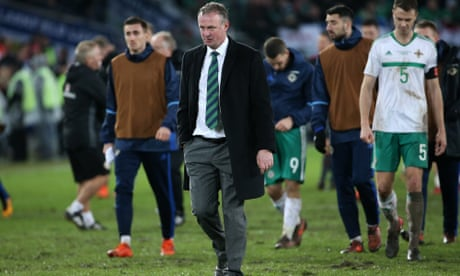 Northern Ireland's Michael O'Neill laments cruelty of first-leg penalty