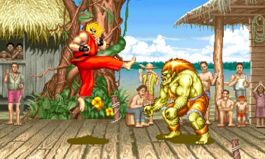 Street Fighter II.