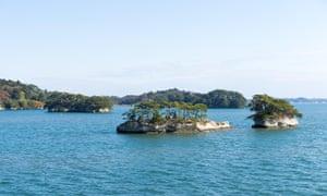 Matsushima Islands in Japan.