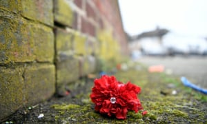 Floral tributes Hither Green