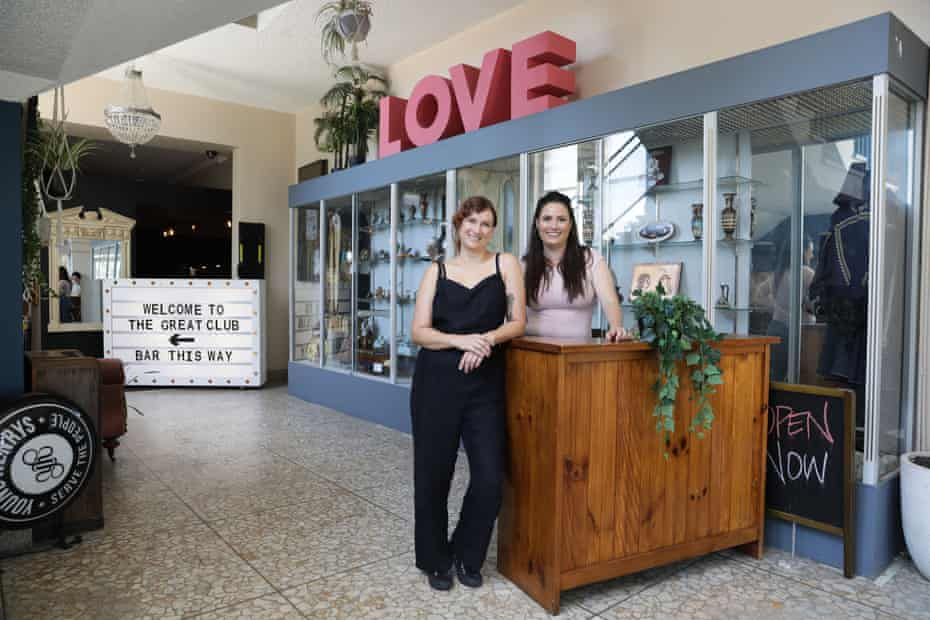 Alison Avron and Brooke Olsen have opened the Great Club, a community-focused live music venue in Marrickville, Sydney