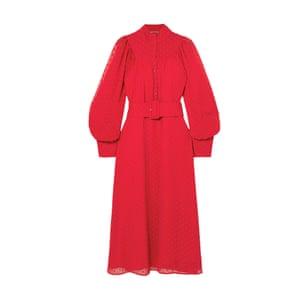 Chiffon midi dress, £270, Rotate Birger Christensen at net-a-porter.com