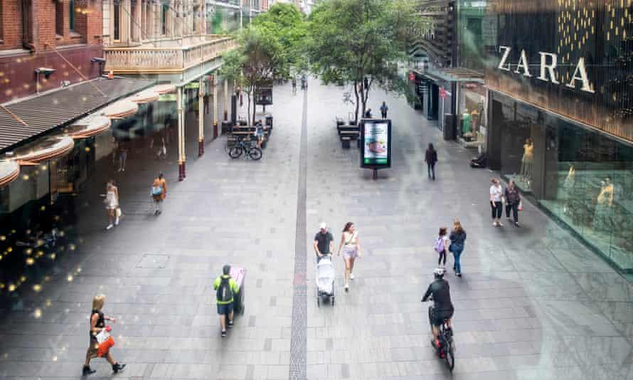 Pitt Street MAll in Sydney's CBD