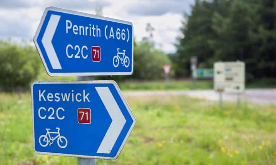 The famous Coast to Coast path will no longer be part of the National Cycle Network.