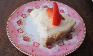 Martha Stewart's cheesecake.