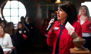 Women For Trump co-founder Mariane Sheridan.