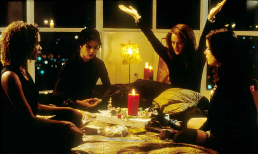 'I wanted them to look like they were in the Cure' … from left, Rachel True, Fairuza Balk, Robin Tunney and Neve Campbell in the 1996 horror film
