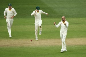 Nathan Lyon is now Australia's key man in this first Test against India.