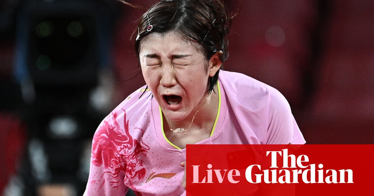 Tokyo 2020 Olympics: China top medal table, Covid worries build – live!