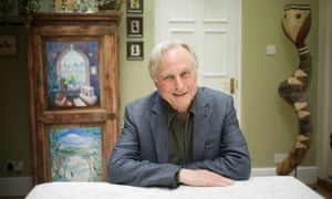 4th May - OXFORD: Richard Dawkins in his home.( Photograph by Graeme Robertson)