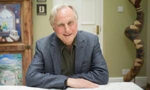 Richard Dawkins in his home.