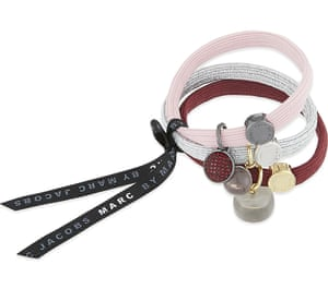 """£25, Marc by Marc Jacobs from <a href=""""http://www.selfridges.com/GB/en/cat/marc-by-marc-jacobs-cluster-hairbands-3-pack_149-3000609-M0008029/"""">selfridges.com </a>"""
