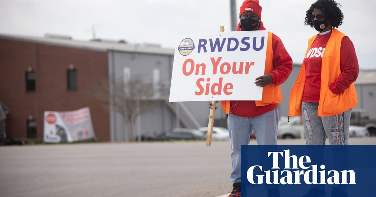 'The fuse has been lit': union leaders hope Amazon effort will boost support across US