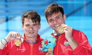 England's Daniel Goodfellow (left) and Tom Daley with their gold medals in the men's synchronised 10m platform final and after which the latter called for a change in the laws in 37 of the Commonwealth countries.