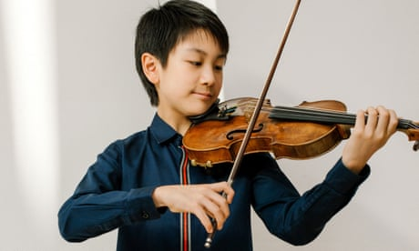 Could a 12-year-old Australian-Chinese violinist be the next child prodigy?