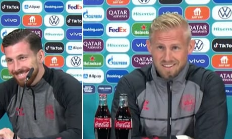 'Has it ever been home?': Kasper Schmeichel takes playful aim at England – video