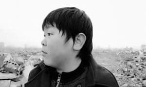 One of the livestream stars in Zhu Shenge's documentary.