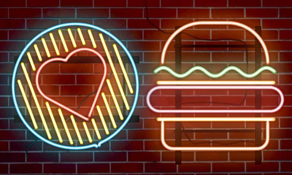 Food and the mind illustration