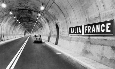 Mont Blanc tunnel, 15 July 1965.