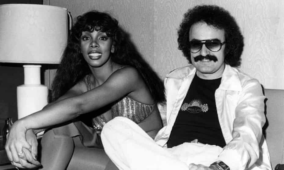 Disco inferno ... Donna Summer and Giorgio Moroder.