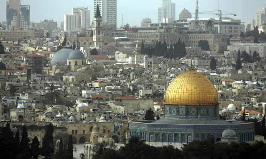 Jerusalem seen from the Mount of Olives.
