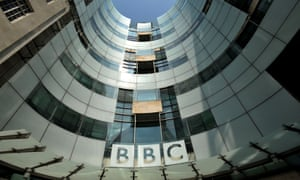 The BBC's Broadcasting House in Portland Place, London.