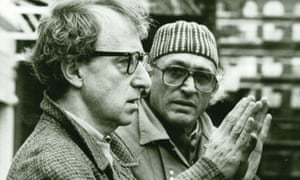 Carlo Di Palma, seen here with Woody Allen, gets a 'tombstone' of