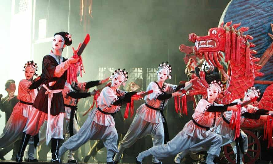 Turandot at the Royal Opera House in 2008. Sally Jacobs came up with the design for the 1984 production, directed by Andrei Serban – a production that stayed in the repertoire for more than 30 years.