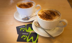 MyWaitrose cards offer free cups of coffee with a purchase