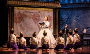 'Her commitment to future generations' … The King and I.