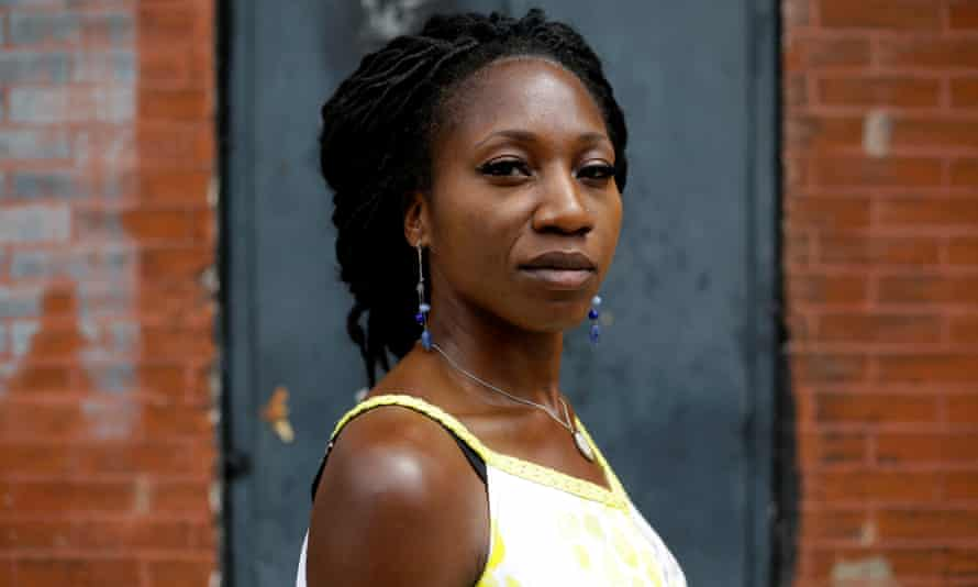 Amara Enyia, 35, is among more than 15 mayoral candidates in Chicago.