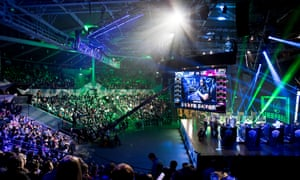 Inside the stadium at the League of Legends Oceanic Pro League grand final