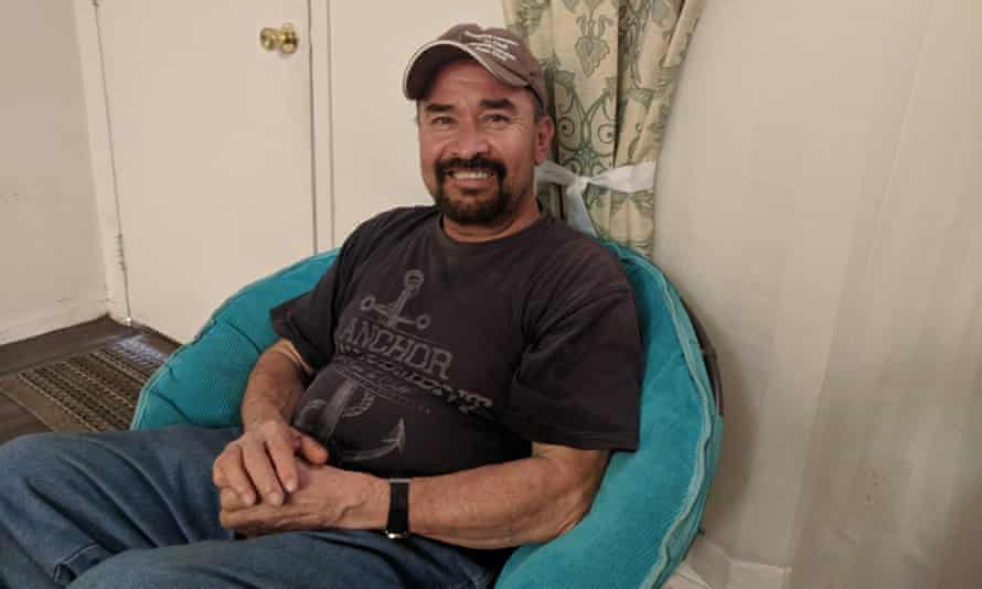 Pedro Guerrero, a former employee of Sanderson Farms, says he experienced discrimination from his manager at the plant.