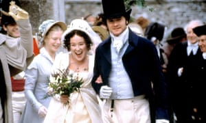 Jennifer Ehle and Colin Firth in Andrew Davies' 1995 Pride and Prejuduce.