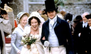Austen tradition … Jennifer Ehle and Colin Firth in the 1995 TV adaptation of Pride and Prejudice.