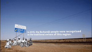 A fact about the Barkandji people of New South Wales as part of The Indian Pacific.