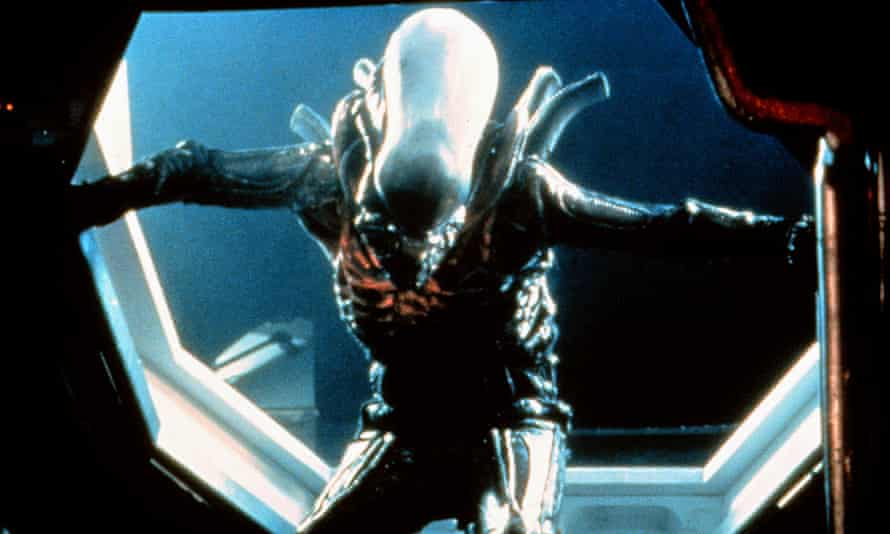The Xenomorph in Alien (1979) exhibits insect characteristics: egg-laying queen, parasitic behaviour and metamorphic lifecycles.