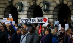 A vigil for refugees in Nottingham, but can people in poor communities who feel overlooked, afford to be so welcoming?
