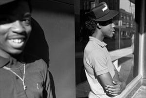Two Boys,Syracuse, NY, 1985