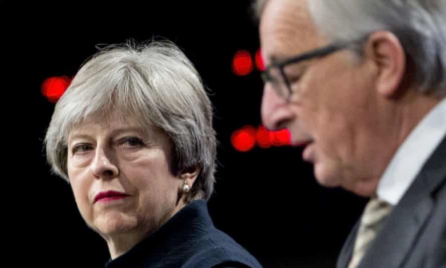 Theresa May had to take a break from negotiations in Brussels to discuss the issue of the Irish border with Arlene Foster, the leader of the DUP.