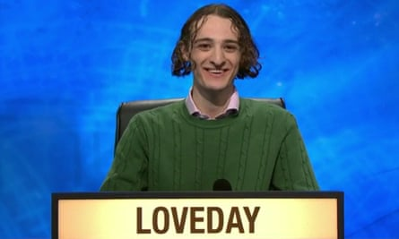 It's high time we made Oxbridge hapax legomenon, 'said only once' ... Ted Loveday on University Challenge.