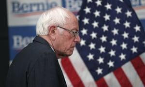 Bernie Sanders: not ready to quit.