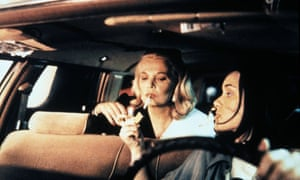 Gena Rowlands and Winona Ryder in Night on Earth.