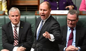 Josh Frydenberg has defended the government's $444m grant to the reef foundation.