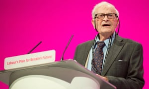 Harry Leslie Smith speaking at the Labour conference in 2014