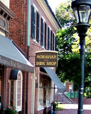 Moravian Bookshop moved into its current, 15,000 square foot space in 1867.